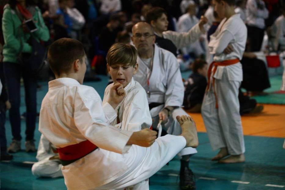 """IV Mistrzostwa Łodzi w Karate Tradycyjnym """"Kumite"""" – Łódź 11.03.2017 r."""